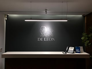 DE LEON PRO Offices & stores Aluminium/Zinc Grey