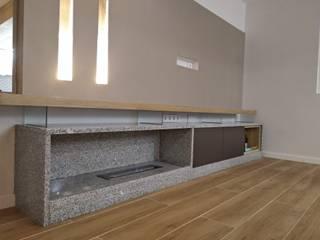 Remodelação T3 Salas de estar modernas por D&D Design Interiores Moderno