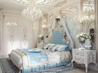 Camera da letto in stile classico di Дизайн-студия элитных интерьеров Анжелики Прудниковой Classico