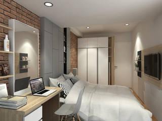Minimalistische Schlafzimmer von unimony.id Minimalistisch