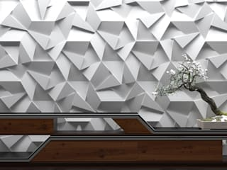 ZICARO - producent paneli 3D Walls & flooringWall tattoos Ceramic Grey