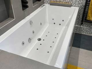 Whirlpool Bath Install The Whirlpool Bathshop Modern hotels Plastic White