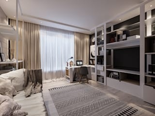 Проект комнаты для школьника в частном доме от Александр Бабаджанян Лофт