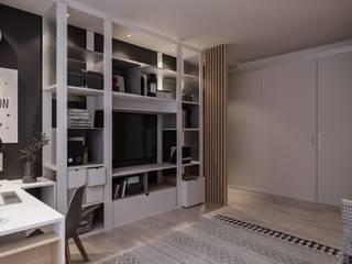 Проект комнаты для школьника в частном доме от Александр Бабаджанян Модерн