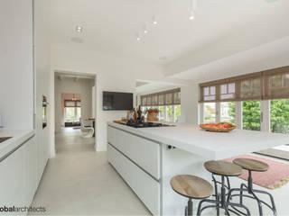 Villa White Lodge Noordwijk van Global Architects Industrieel