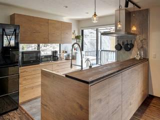 オーダーキッチン 広島 リフォーム リノベーション 施工事例 食器棚 食洗機 ボッシュ BOSCH の ちいさなキッチンメーカー・DAIDA