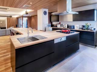 オーダーキッチン 広島 新築 施工事例 食器棚 食洗機 ミーレ Miele の ちいさなキッチンメーカー・DAIDA