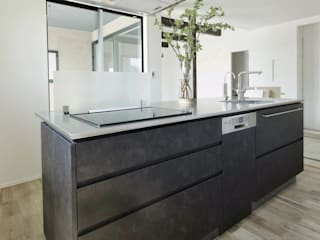 オーダーキッチン 広島 新築 施工事例 食洗機 ボッシュ BOSCH の ちいさなキッチンメーカー・DAIDA