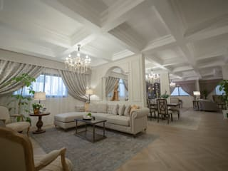 Colonial style living room by FN Design Colonial