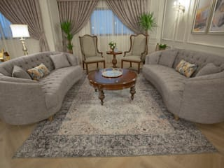 FN Design Colonial style living room