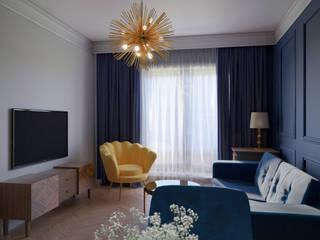 Mieszkanie w stylu glamour [Home Tour] Nowoczesna kuchnia od Holi Home Nowoczesny