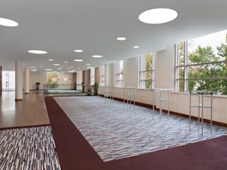 Couloir, entrée, escaliers modernes par Ferreira de Sá Moderne