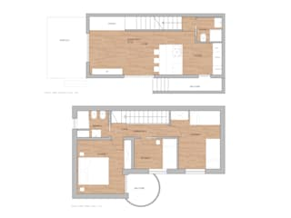 una casa al mare di BB1 LABORATORIO DI ARCHITETTURA & DESIGN