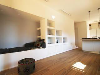 una casa al mare Soggiorno moderno di BB1 LABORATORIO DI ARCHITETTURA & DESIGN Moderno