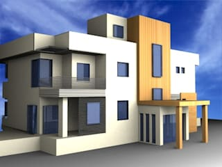 SERPİCİ's Mimarlık ve İç Mimarlık Architecture and INTERIOR DESIGN Villa Cemento Bianco