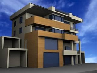 SERPİCİ's Mimarlık ve İç Mimarlık Architecture and INTERIOR DESIGN Casa unifamiliare PVC Marrone
