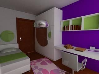SERPİCİ's Mimarlık ve İç Mimarlık Architecture and INTERIOR DESIGN Nursery/kid's roomAccessories & decoration Komposit Kayu-Plastik Purple/Violet