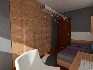 SERPİCİ's Mimarlık ve İç Mimarlık Architecture and INTERIOR DESIGN Study/officeLighting Aluminium/Seng White