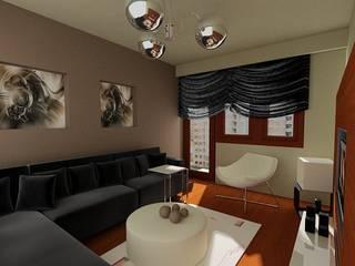 SERPİCİ's Mimarlık ve İç Mimarlık Architecture and INTERIOR DESIGN Living roomAccessories & decoration Tekstil Black