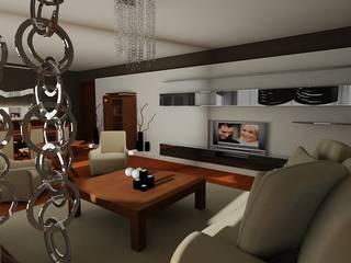 SERPİCİ's Mimarlık ve İç Mimarlık Architecture and INTERIOR DESIGN Dining roomAccessories & decoration Kayu Wood effect