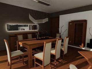 SERPİCİ's Mimarlık ve İç Mimarlık Architecture and INTERIOR DESIGN Dining roomTables Kayu Wood effect