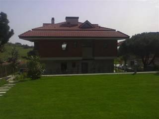 SERPİCİ's Mimarlık ve İç Mimarlık Architecture and INTERIOR DESIGN Villa Kayu Wood effect