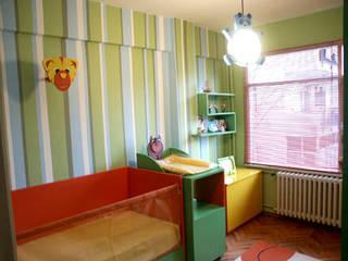 SERPİCİ's Mimarlık ve İç Mimarlık Architecture and INTERIOR DESIGN Stanza dei bambiniLetti & Culle PVC Variopinto