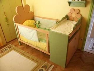 SERPİCİ's Mimarlık ve İç Mimarlık Architecture and INTERIOR DESIGN Nursery/kid's roomBeds & cribs Komposit Kayu-Plastik Multicolored