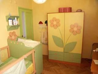 SERPİCİ's Mimarlık ve İç Mimarlık Architecture and INTERIOR DESIGN Nursery/kid's roomWardrobes & closets Komposit Kayu-Plastik Yellow