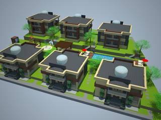 by SERPİCİ's Mimarlık ve İç Mimarlık Architecture and INTERIOR DESIGN Minimalist