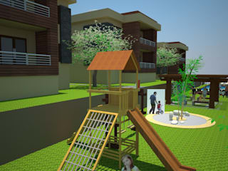 SERPİCİ's Mimarlık ve İç Mimarlık Architecture and INTERIOR DESIGN Casetta da giardino Legno Effetto legno