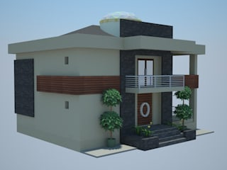 SERPİCİ's Mimarlık ve İç Mimarlık Architecture and INTERIOR DESIGN Case moderne PVC Effetto legno