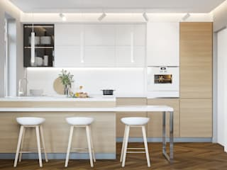 Scandinavian style kitchen by NK-Line Scandinavian