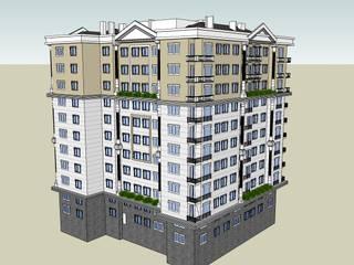SERPİCİ's Mimarlık ve İç Mimarlık Architecture and INTERIOR DESIGN Condominio PVC Variopinto