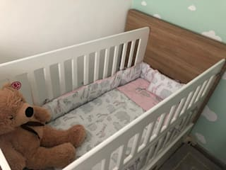 Argento muebles Kamar bayi Wood effect