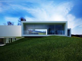 Casas minimalistas por Beton House Minimalista
