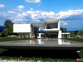 Beton House Nhà phong cách tối giản