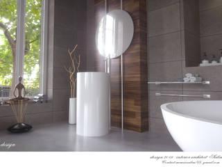 Modern Bathroom by İç Mimarist Modern