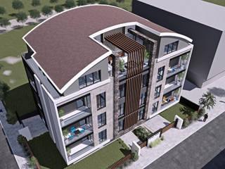 Halman Konak, Bursa Modern Balkon, Veranda & Teras CM² Mimarlık ve Tasarım Stüdyosu Modern