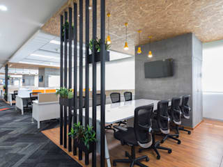 Virtusa, Bengaluru Modern offices & stores by Zyeta Modern