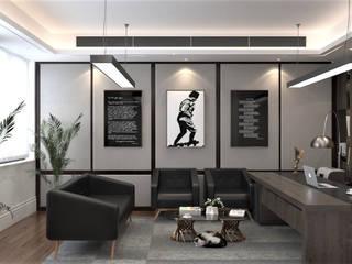 ofis tasarımı DESİGN MİMARLIK Merdivenler Kireçtaşı Şeffaf