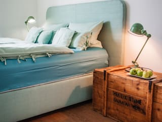 by andy | INTERIORDESIGN Industrial style bedroom