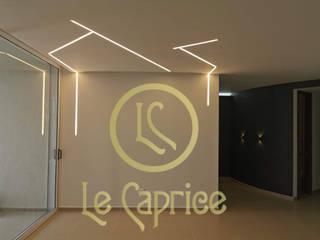 Diseño Iluminación Perfiles de Le Caprice Minimalista
