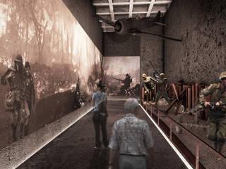 Kore Savaşı Anma Alanı ve Müze, Lüleburgaz - Kırklareli Modern Sergi Alanları CM² Mimarlık ve Tasarım Stüdyosu Modern