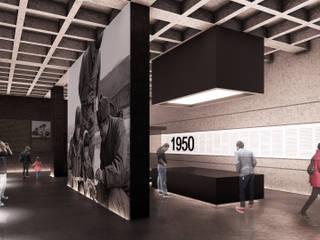 Kore Savaşı Anma Alanı ve Müze, Lüleburgaz - Kırklareli Modern Müzeler CM² Mimarlık ve Tasarım Stüdyosu Modern