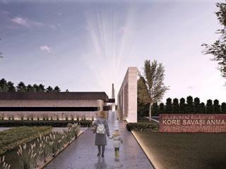 Kore Savaşı Anma Alanı ve Müze, Lüleburgaz - Kırklareli Modern Kongre Merkezleri CM² Mimarlık ve Tasarım Stüdyosu Modern