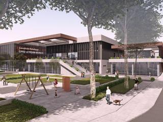 2. Ödül, Çanakkale Çarşı ve Yaşam Merkezi, Ulusal Mimari Proje Yarışması, Çanakkale CM² Mimarlık ve Tasarım Stüdyosu Modern