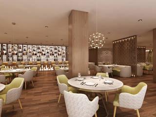 Restaurante Alpha Details Espaços de restauração modernos