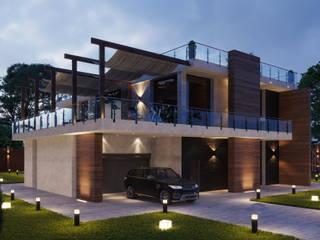 """Современный дом от студии ED - """"ЭлитДизайн"""" от ED - Architect & design STUDIO Модерн"""