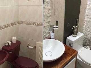 BAÑO RESIDENCIAL Baños modernos de 3HOUS Moderno